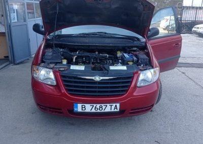Газова уредба на Chrysler Town Country 3.3 v6 2005г.